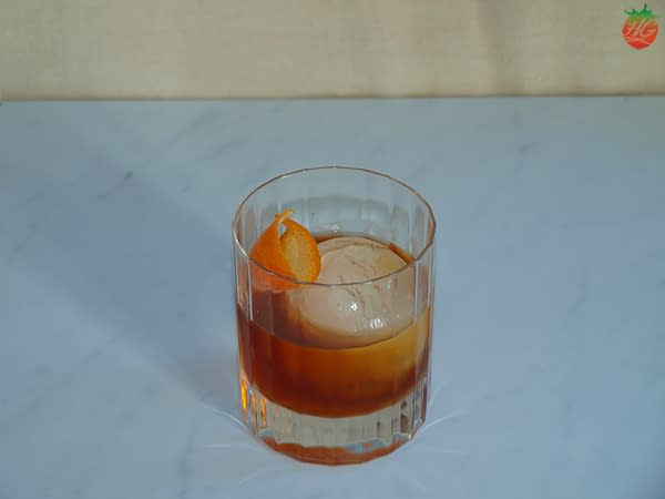 Receta Chai Old Fashioned